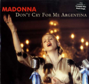 "DON'T CRY FOR ME ARGENTINA - USA 6 TRACK 12"" VINYL (1)"